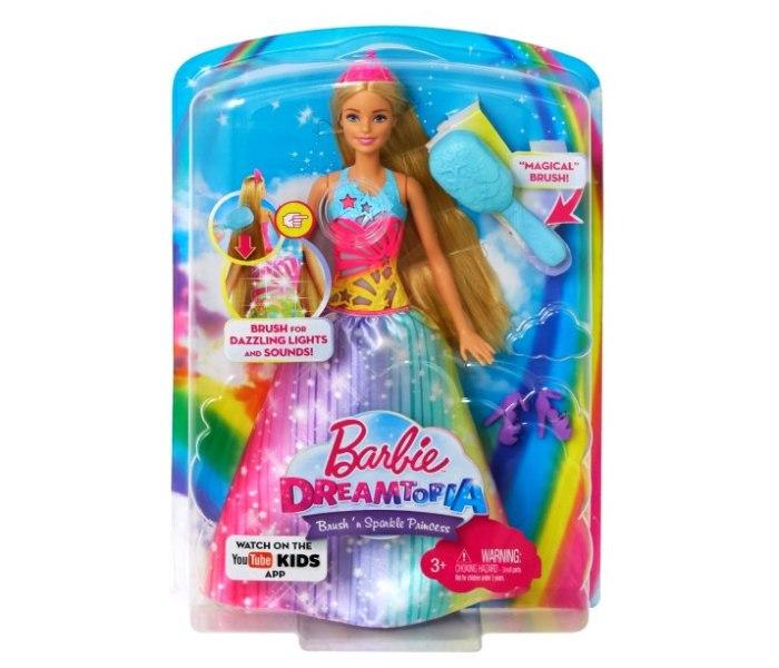 Barbie princeze sa magnet.cetkom za kosu