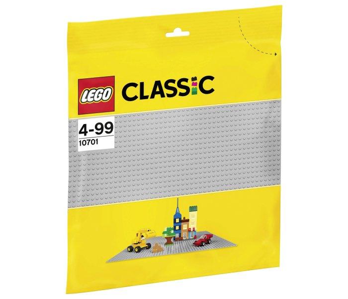 Lego kocke gray baseplate classic