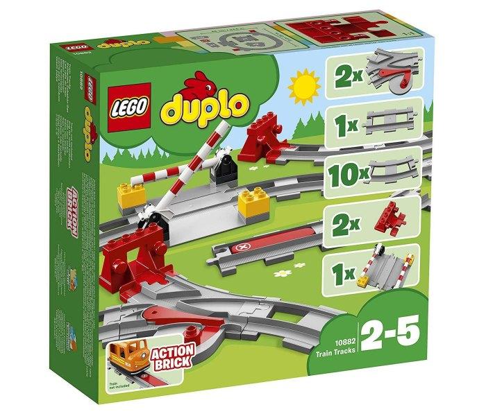 Lego kocke Train Tracks Duplo