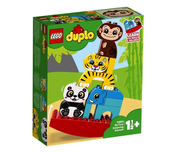 Igracka Lego kocke My first balancing animals Duplo