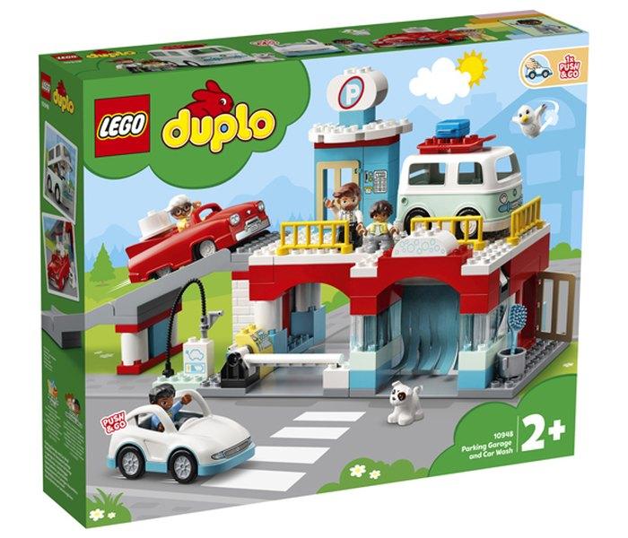Lego kocke Parking Garage and Car Wash Duplo 2+