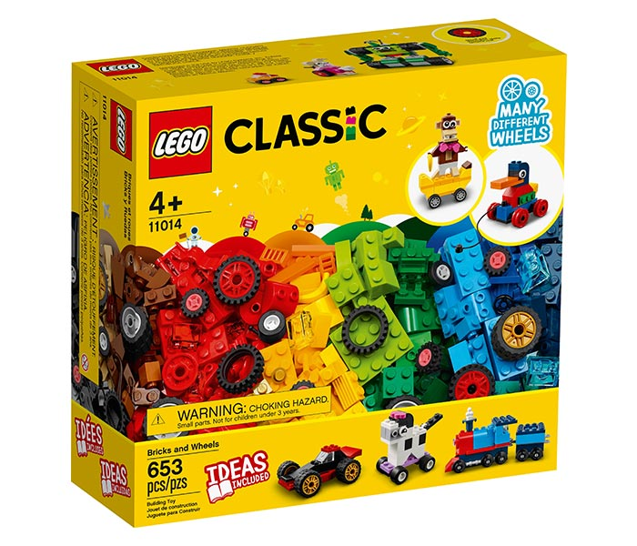 Igračka Lego kocke Bricks and Wheels, Classic, 4g+