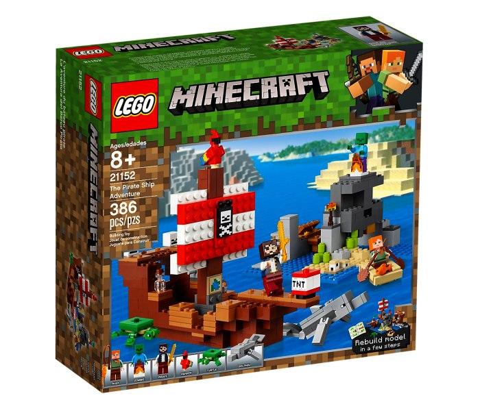 Igracka Lego kocke the pirate ship adventure Minecraft