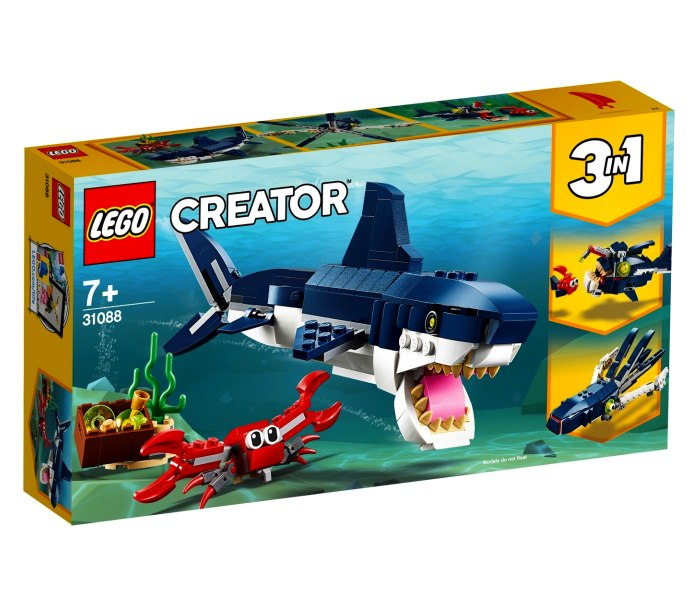 Igracka Lego kocke deep sea creatures Creator