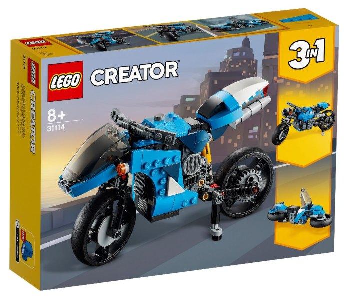 Igračka Lego kocke Superbike, Creator 8g+