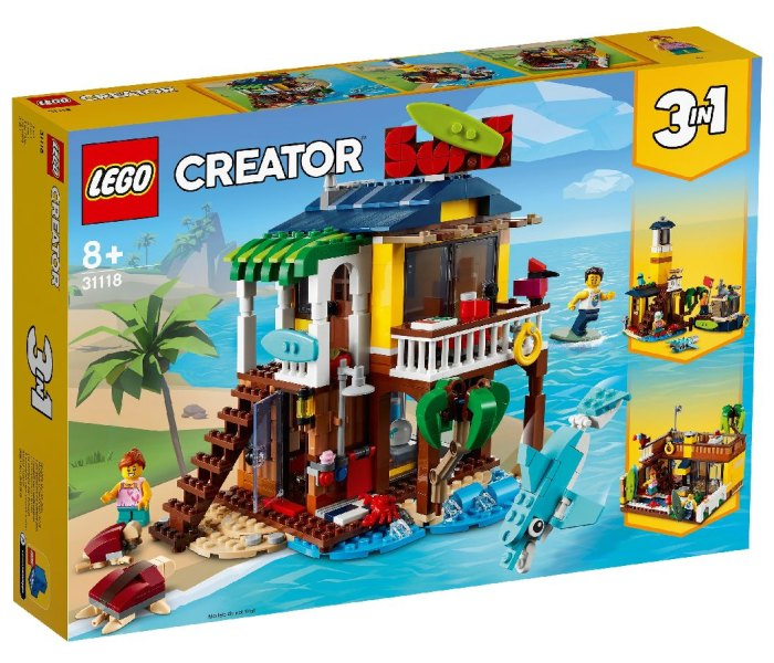 Igračka Lego kocke Surfer beach house, Creator 8g+