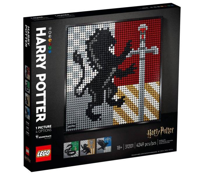 Igračka Lego kocke Hogwarts crests, Harry Poter 18g+