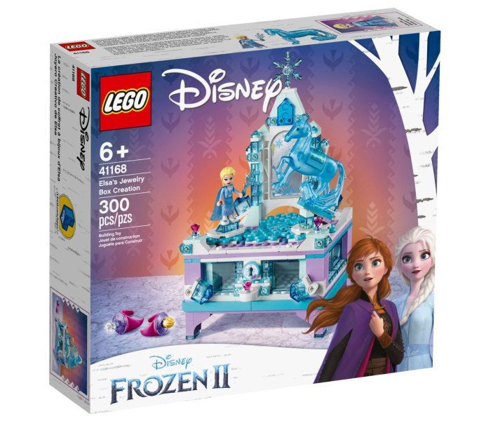 Lego kocke Elsa`s jewelry box creation  Disney Frozen