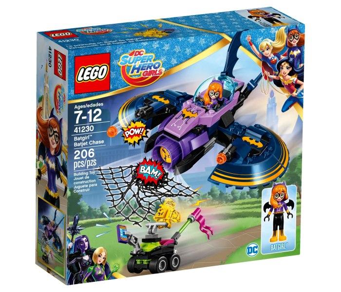 Lego kocke Batgirl Batjet Chase Super Heroes girls