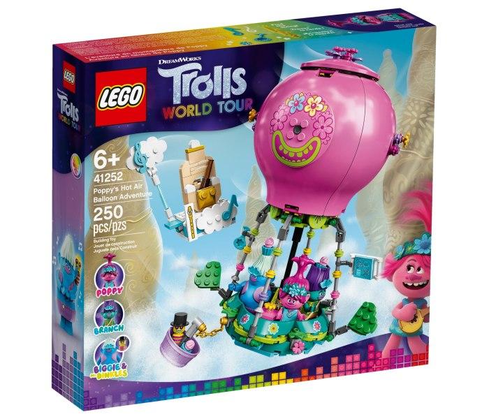 Igracka Lego kocke Poppy`s hot air balloon adventure Trolls