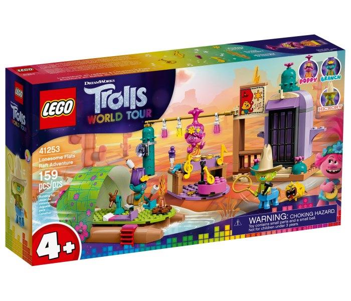 Igracka Lego kocke Lonesome flats raft  adventure Trolls