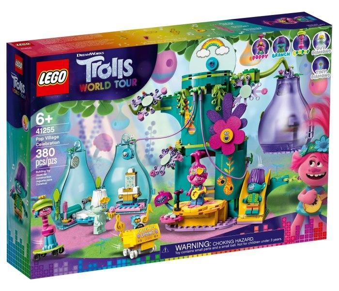 Igracka Lego kocke pop village celebration Trolls