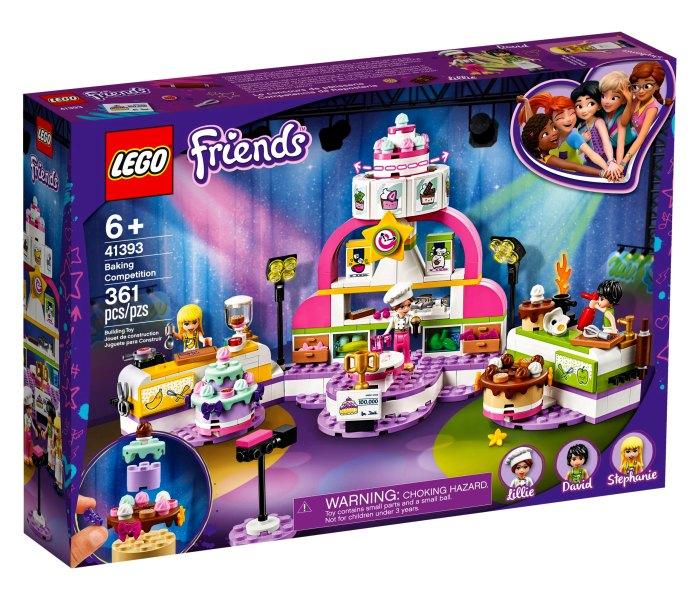 Lego kocke Beaking competition 6g+ friends