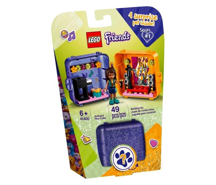 Lego kocke Andrea`s play cube 6g+Friends