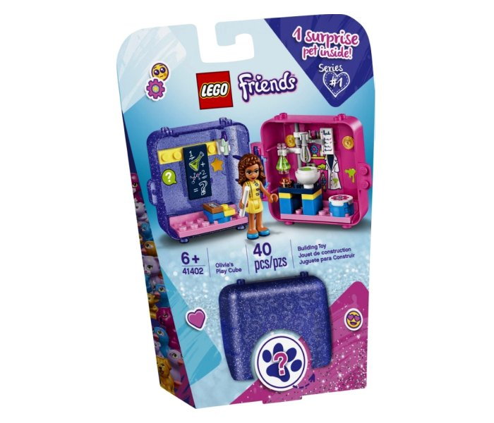 Lego kocke Olivia`s play cube ,6g+ friends