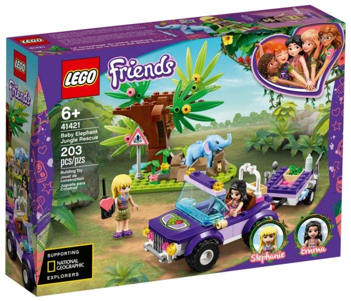 Lego kocke baby elephant jungle rescue Friends 6g+