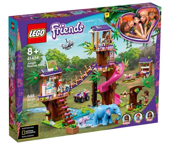Lego kocke jungle rescue base Friends 8g+