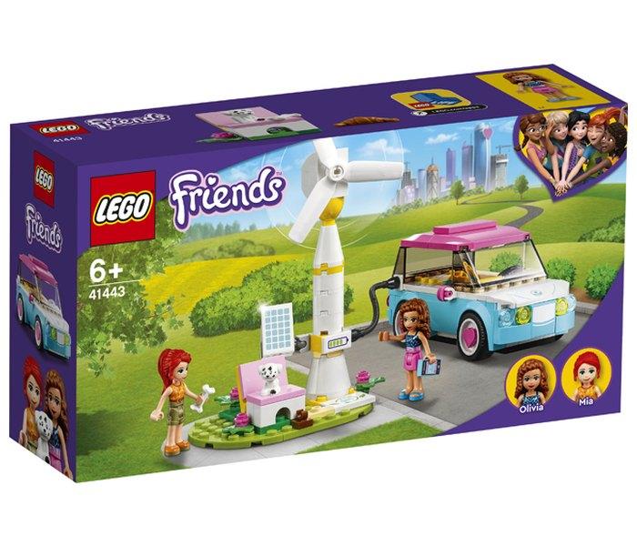 Igračka Lego kocke Olivia's electric car,  Friends 6g+