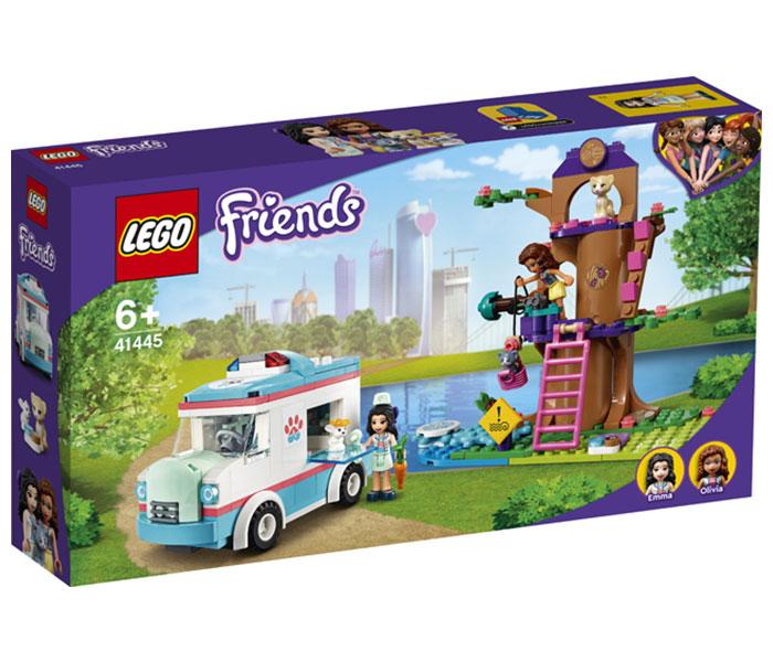 Igračka Lego kocke vet Clinic ambulance, Friends, 6g+