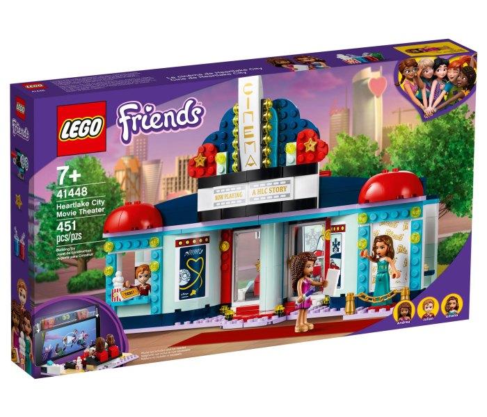 Igracka Lego kocke heartlike city movie theater,  Friends 7g+