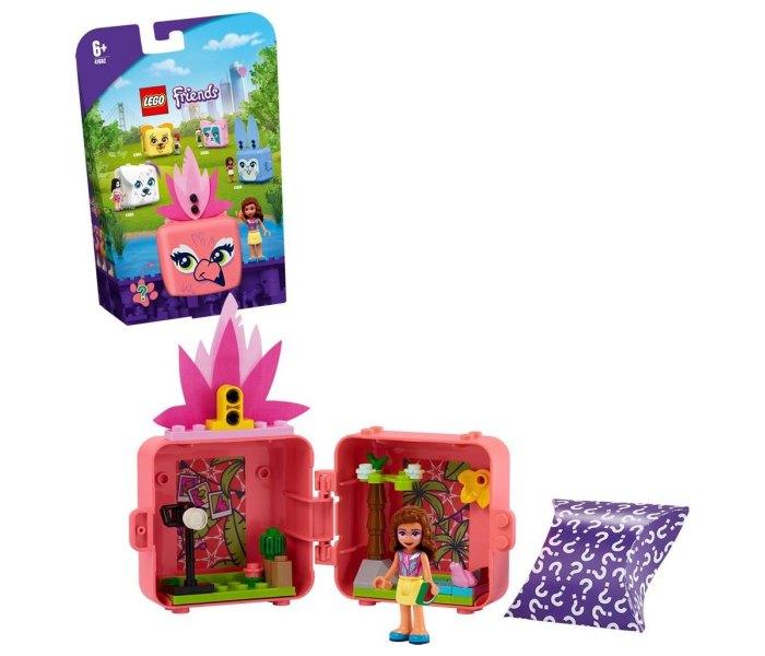 Igračka Lego kocke Olivia's flamingo cube, Friends, 6g+