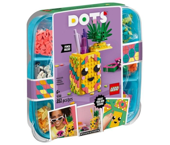 Igracka Lego kocke Pineapple pencil holder Dots 6g+