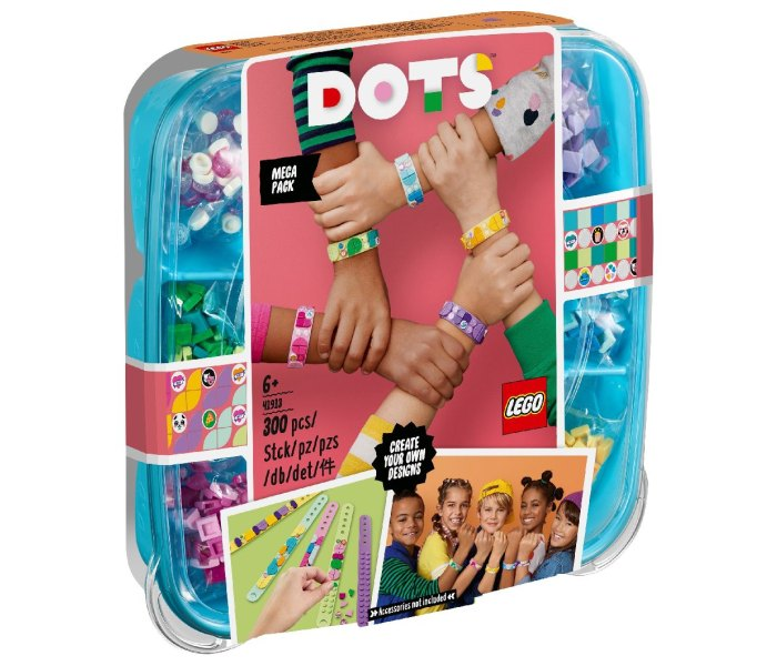 Lego kocke bracelet mega pack Dots 6g+
