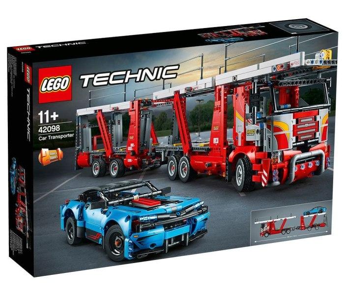 Lego kocke car transporter 11g+ technic