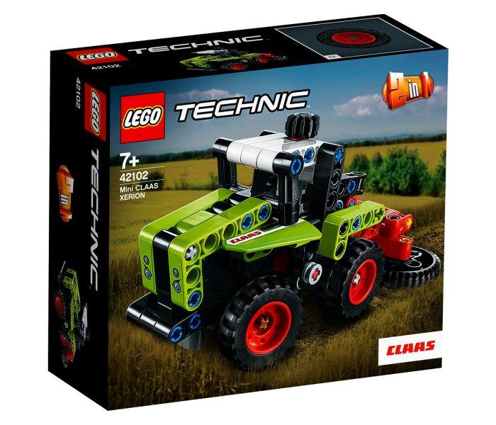 Lego kocke Mini claas xerion 7g+, technic