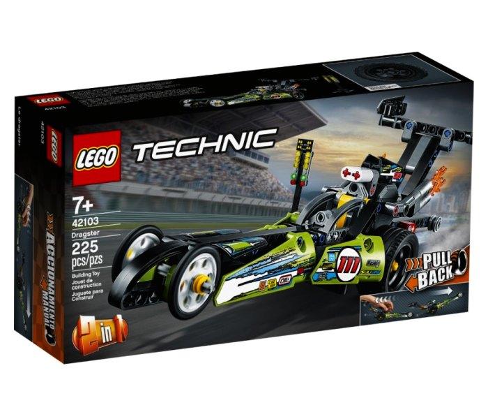 Lego kocke dragster technic 7g+ Technic