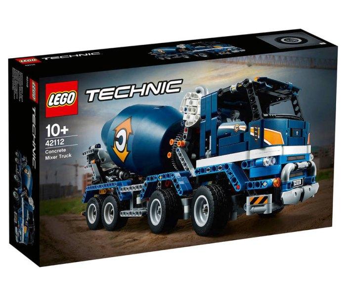 Igračka Lego kocke Concrete mixer truck, Technic 10+