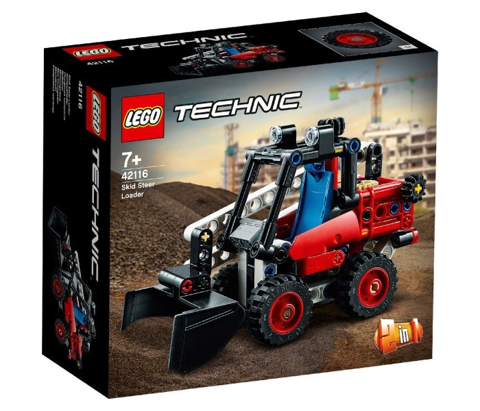 Igračka Lego kocke Skid steer loader, Technic 7g+