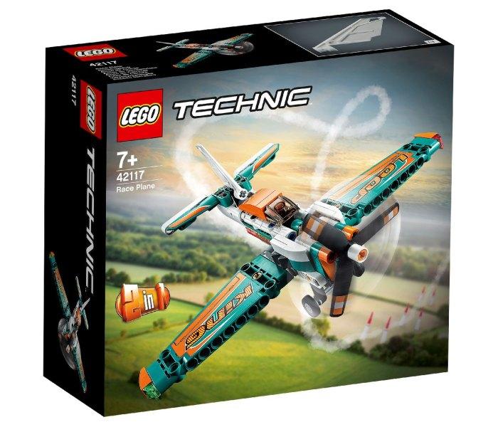 Igračka Lego kocke race plane, Technic 7g+
