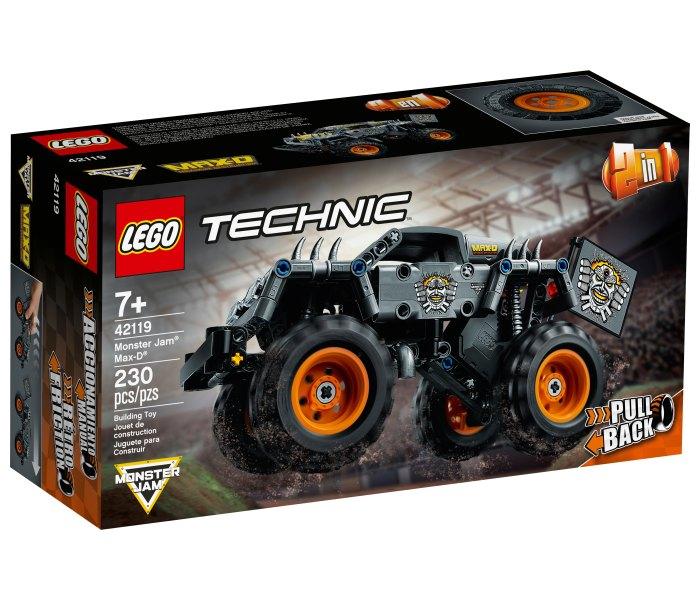 Igračka Lego kocke monster jam, max-d, Technic 7g+