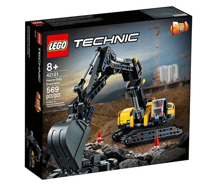 Igračka Lego kocke Heavy-duty excavator, Techic, 8g+