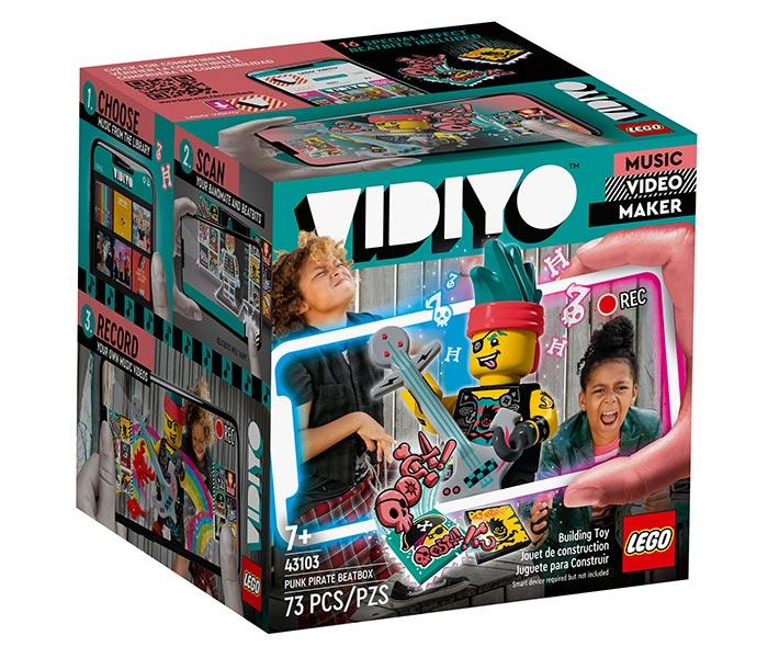 Igračka Lego kocke Punk Pirate beatbox, Vidiyo, 7g+