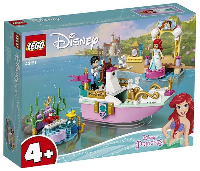 Igračka Lego kocke Ariel, celebration boat,  Disney princess, 4g+