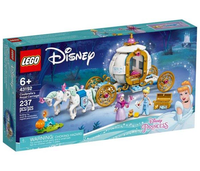 Igračka Lego kocke Cinderella's royal carriage, Disney princess, 6g+