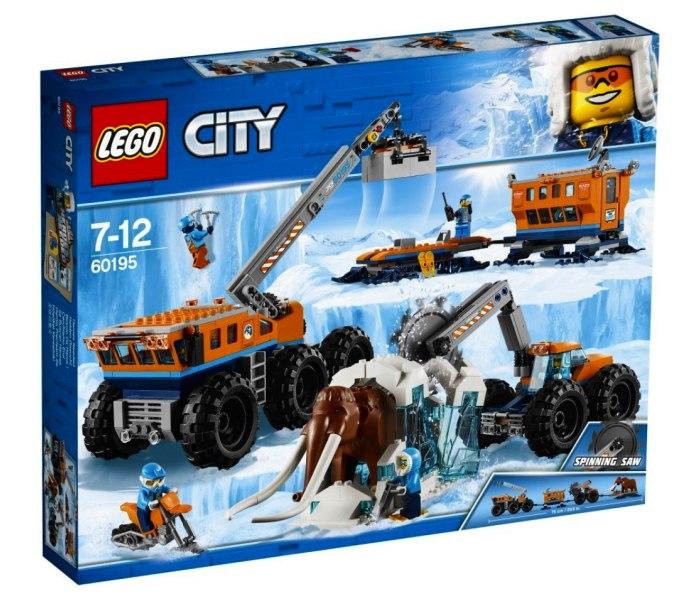 Lego kocke Arctic mobile exploration base city