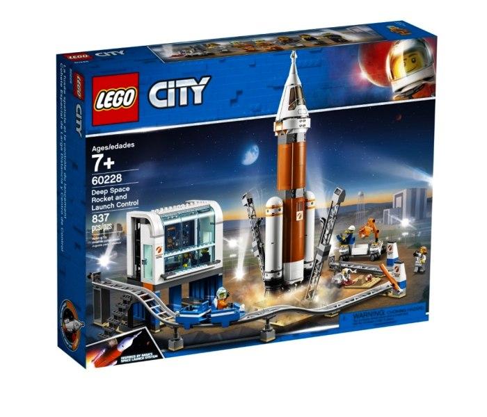 Igracka Lego kocke Deep space rocket and control City