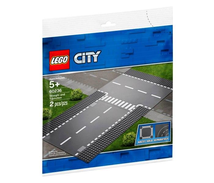 Igracka Lego kocke Straight and t-junction City