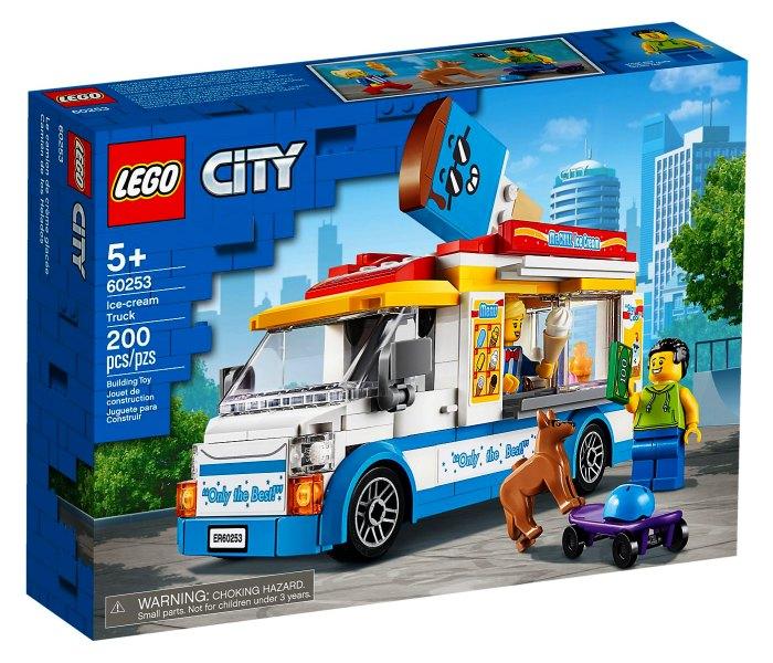 Lego kocke Ice cream truck 5g+, city