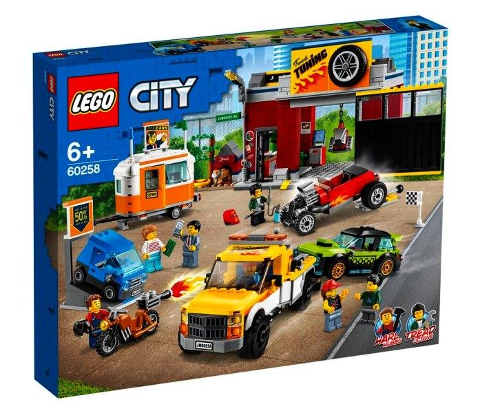 Lego kocke Tuning workshop 6g+, city