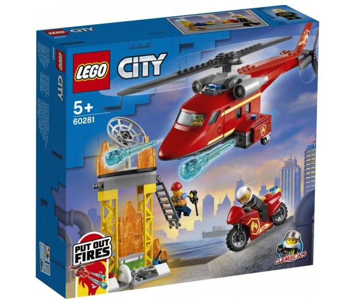 Igračka Lego kocke fire rescue helicopter, City 5g+
