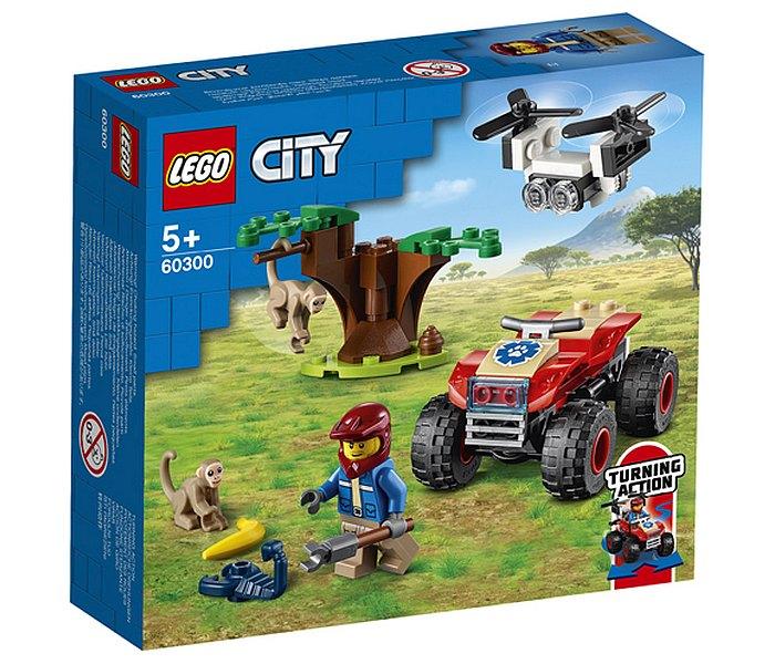 Lego kocke,Wildlife rescue ATV, City, 5+