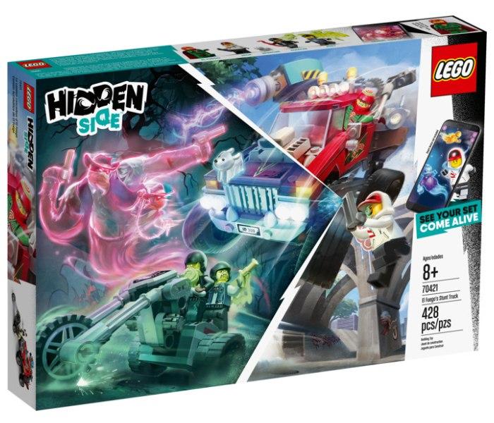 Igracka Lego kock el fuego`s stunt truck Hidden side