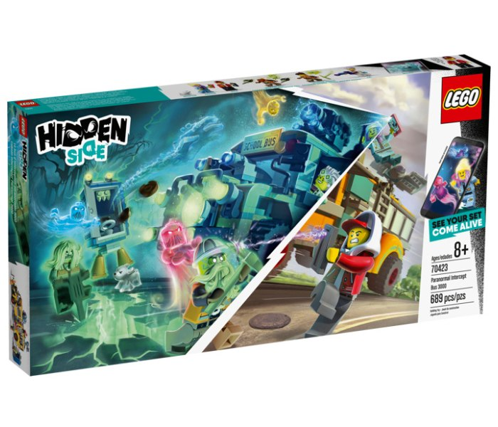 Igracka Lego kocke Paranormal intercept bus Hidden side