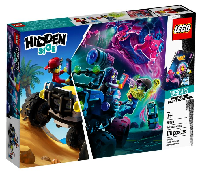 Igracka Lego kocke Jack`s beach 7g+, Hidden side