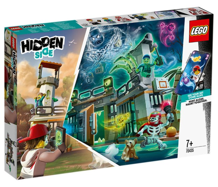 Lego kocke newbury abandoned prison Hidden side 7g+