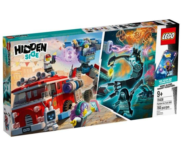 Lego kocke phantom fire truck 3000 Hiddeen side 9g+
